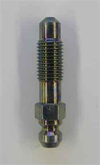 8mm x 1.0 steel bleed screw - 30mm long