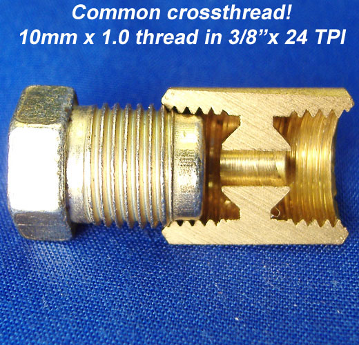 Metric common crossthread