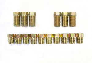 Brass T-Fitting Pack of 10 Union All SAE 3//8 X 24 Thread Inverted Flare