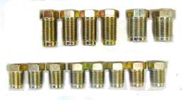 #6 Brake Line Nut Assortment