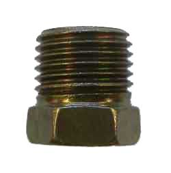 "A14-3 - 9/16"" x 18 unf male fully threaded steel nut,  .600"" long overall"