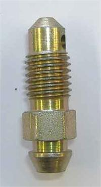 "5/16"" x 24 unf steel bleed screw - 1.00"" long"