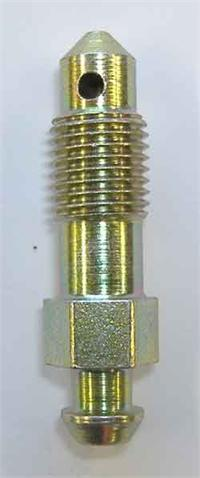 "3/8"" x 24 unf steel bleed screw - 1.51"" long"