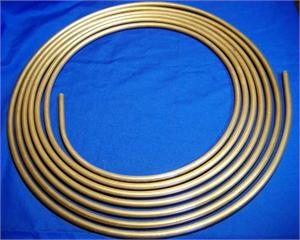25' long Copper Nickel Brake Line