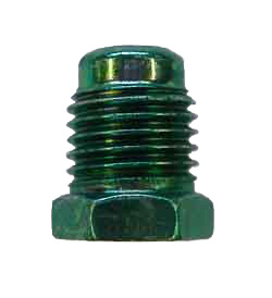 M11-3 - 13mm x 1.5 male steel nut with non-threaded lead - DIN flare